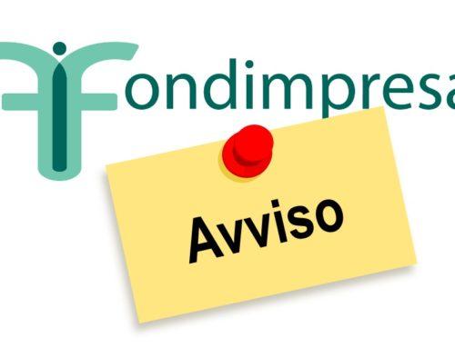 NUOVO BANDO FONDIMPRESA – contributi per la formazione aziendale – Avviso 1/2020