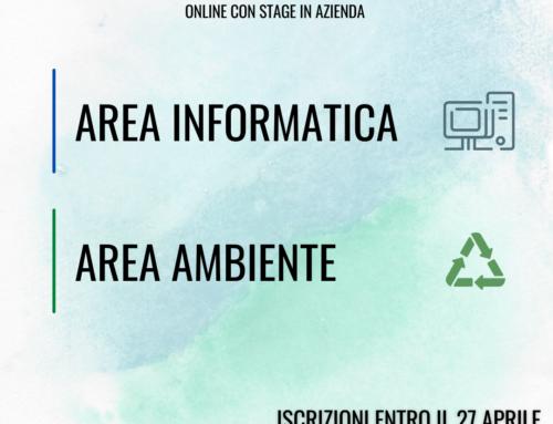 Aperti nuovi corsi gratuiti in area ambiente e informatica ad Arezzo